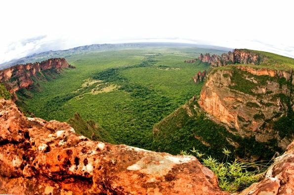 Nascentes do rio Claro na Chapada dos Guimarães - Sérgio Amaral WWF-Brasil