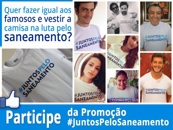 #Juntospelosaneamento